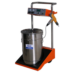 powder coating spraygun machine