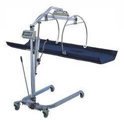 power bed type patient lifters