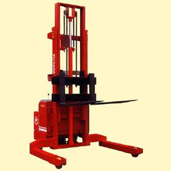 powered pallet stacker