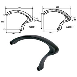 pp armrests (office chair parts)