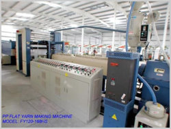 PP Flat Yarn Making Machines