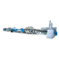 pp hollow profile sheet extrusion lines