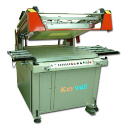 precise clamshell pcb screen printing machine with auto belt take off
