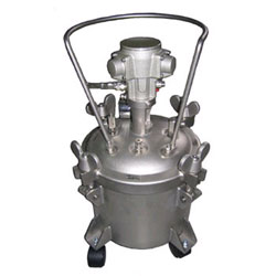 Stainless Steel Pressure Tanks For High Viscosity Materials