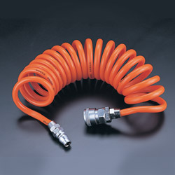 pu recoiled air hose
