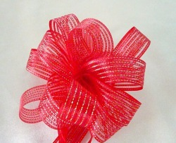 pull flower ribbons