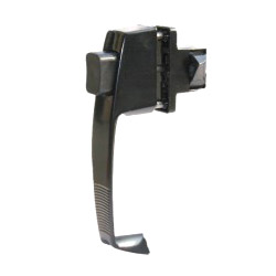 push button latches and locks