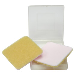 pva facial cleaning pads