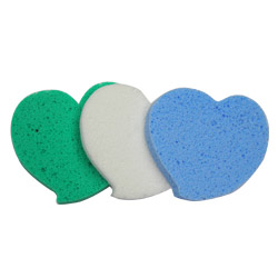 pva facial cleaning sponges