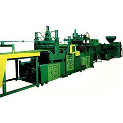 pvc corrugated sheet making machine