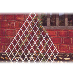 pvc expanding trellis fence lattice