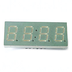 quadruple digit numeric display