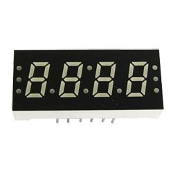 """0.30"""" quadruple digit numeric displays"""