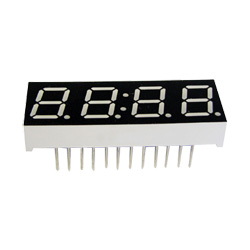 """0.39"""" quadruple digit numeric displays"""