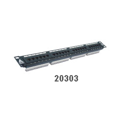 "Cat.5e 19"" Rack Mount Patch Panels"