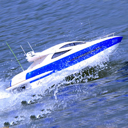 rc brushless electric powered princess boats