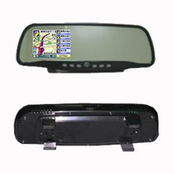 rearview mirror navigation
