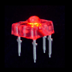 red 3mm flux light emitting diode