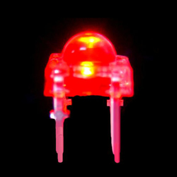 red 5mm flux light emitting diode