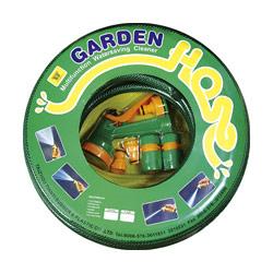 reinforced pvc garden hose set