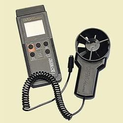 remote vane thermo anemometer