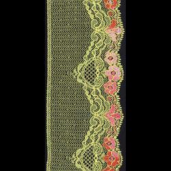 rigid-raschel laces (fabrics)