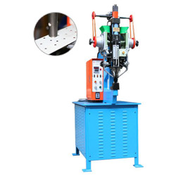 twin hydraulic riveting machine