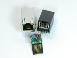 rj45 with transformer modular jack