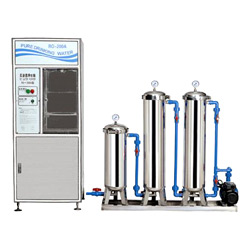 ro purifying equipment