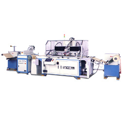 roll to roll web fed screen printing machine