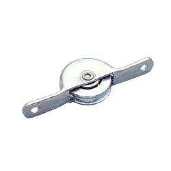 concave steel roller