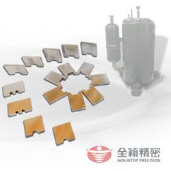 rotary compressor pump vanes