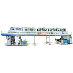 rotogravure high speed coating machine