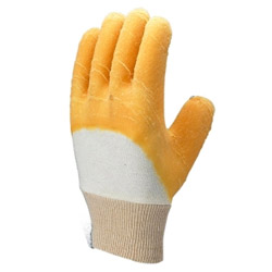 rubber work gloves