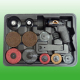 17PCS Heavy Duty Air Sander Kit