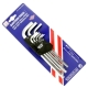 9 PCS LONG BALL POINT HEX KEY WRENCH SET
