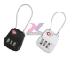 Combination Zinc Alloy TSA Luggage Lock