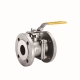 FULL PORT 2 PIECES BALL VALVE FLANGE END