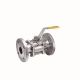 Full Port Three-piece Manual Flange End Ball Valve
