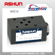 ASHUN Long Life High Efficiency MCV Modular Check Hydraulic Valve