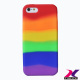 Rainbow Silicon Case For IPhone 5 / 5C / 5S