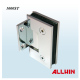 Good Electroplating Full Back Plate Square Corner Wall Mount Shower Door Hinge