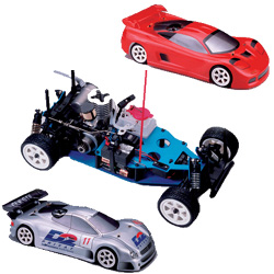 s10 scale 2wd gas powered racing car