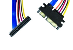 sata 22p male to 22p female