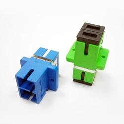 sc vertical duplex adaptor