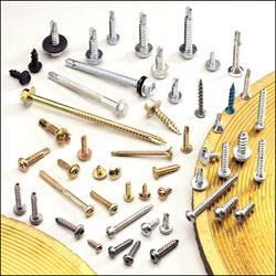 tapping screws, self-drilling screws, thread cutting screws.