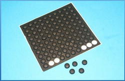 self adhesive rubber pad
