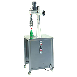 semi auto bottle cap sealing machine