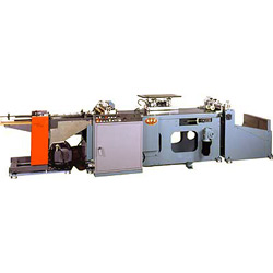 semi auto feed lamination and wrapping machine
