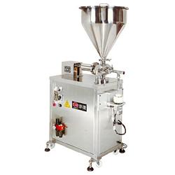 semi auto ointment filling machines